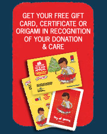 Get Your Gift Card, Origami or Certificate